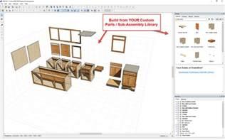 custom cabinets in pro100 customcabinetsoftware