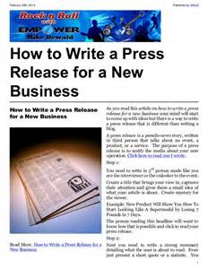 Business Press Release Template by 10 Best Images Of New Company Press Release New Business
