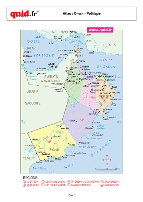 map of oman with cities oman map oman mappery