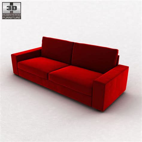kivik sofa review ikea kivik three seat sofa 3d model humster3d