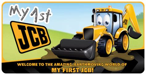 Children S Jcb Toys My First Jcb Diggers Workbenches