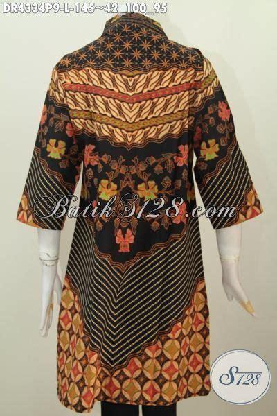 Batik Sinaran baju batik wanita model dress berbahan halus kwalitas