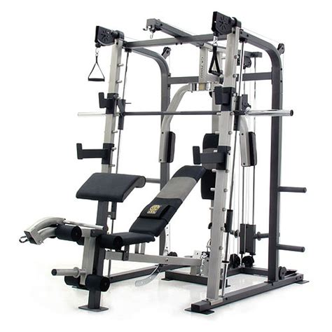 Alat Fitness Smith Machine gold s gr 7000 pro series home