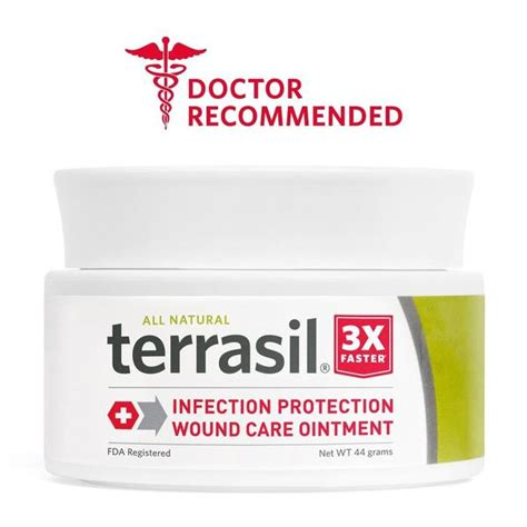 bed sore cream terrasil wound care 3x faster healing dr recommended