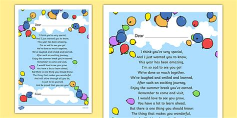 get well soon card template ks1 end of year poem printout end year poem printout
