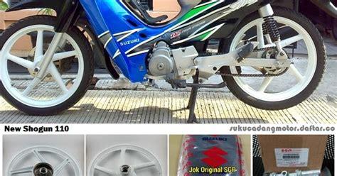 Spare Part Honda Supra X 2002 daftar harga sparepart suzuki new shogun 110 r