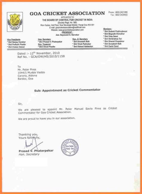 appointment letter definition best 20 formal letter template ideas on resume outline a formal letter and layout cv