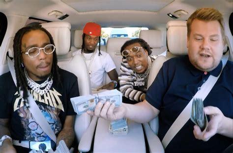 migos bring stacks  cash ad libs  carpool karaoke