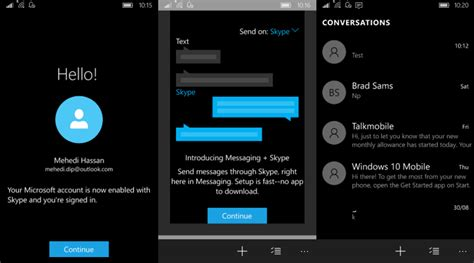 skype for mobile messaging skype beta for your windows 10 mobile