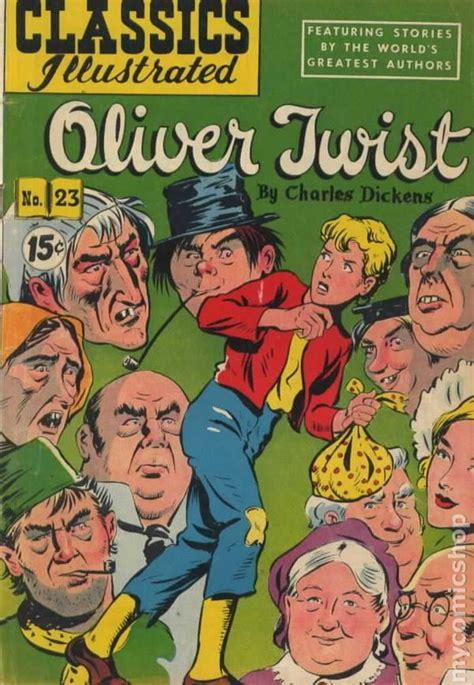 Classics Oliver Twist classics illustrated 023 oliver twist comic books