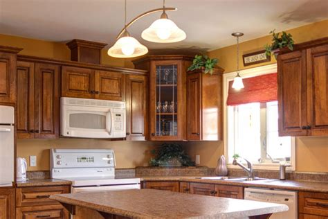 painting golden and light brown painting colors for kitchen walls