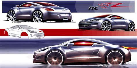 Blueprint Design 04 04 dessins peugeot 308 rc z tout sur le concept car
