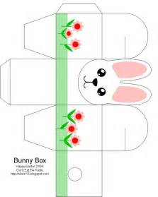 Easter Box Templates Free by Easter Box Easter Bunny Easter Crafts For Free