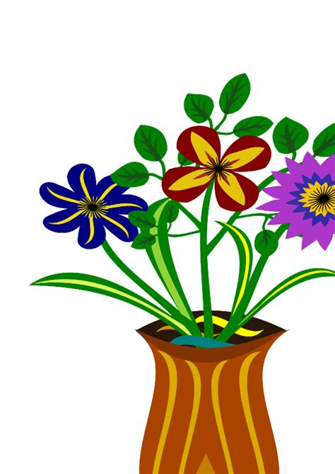 Clipart Flower Vase by Clipart Flowers In Vase Clipart Best