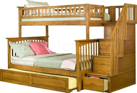 Bunk Beds With Staircase by Bunk Bed With Stairs Lower Price Honey