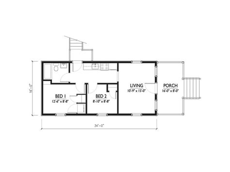 560 sq ft 544 square feet 2 bedrooms 1 batrooms on 1 levels