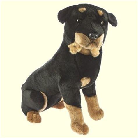 rottweiler stuff plush sitting rottweiler stuffed animal