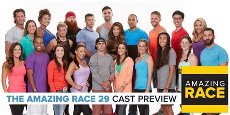 amazing race amazing race 29 cast preview robhasawebsite