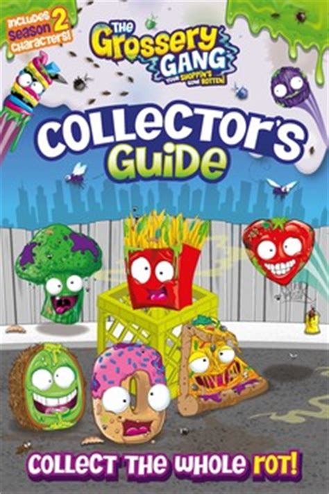 the grossery inside the yucky mart seek and find books the grossery collector s guide book by sizzle