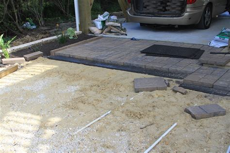 Paver Patio Base Patio Paver Base Sand Patio Paver Base Lowe S Patio Paver Base Layer Dwell Concepts Paver Patio