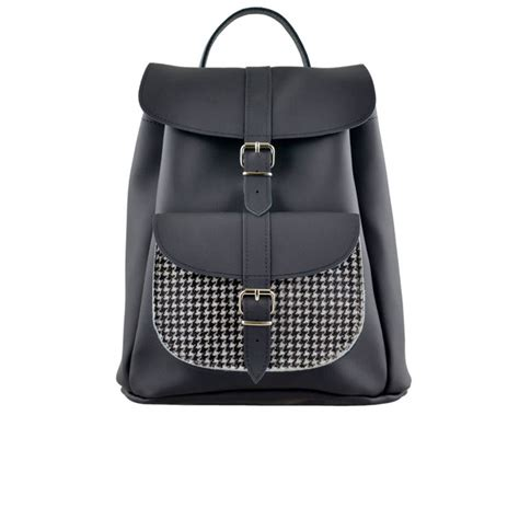 Checkerboard Coach Jacket grafea checkerboard pony skin leather backpack black