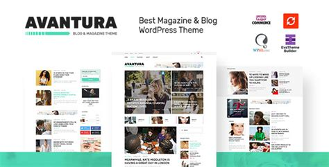 Themeforest Blog | themeforest avantura download magazine blog wordpress