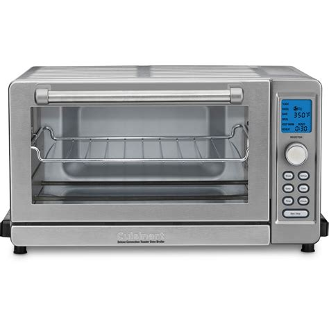 Toaster Oven Broiler With Convection cuisinart deluxe convection toaster oven broiler reviews
