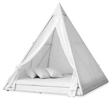 pyramid bed ferrat pyramid daybed modern daybeds