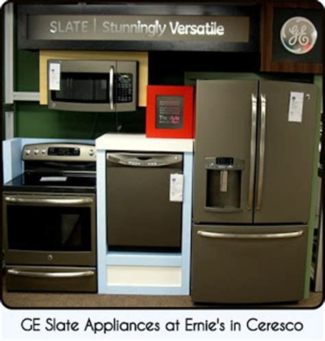 new colors for kitchen appliances ernie s in ceresco slate the new quot it quot color for appliances
