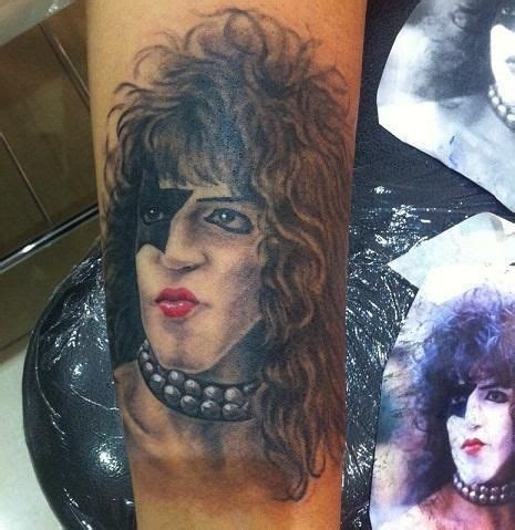 paul stanley rose tattoo 233 best images about tattoos on godzilla
