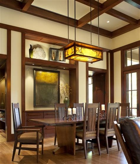 mission style dining room lighting dining room light