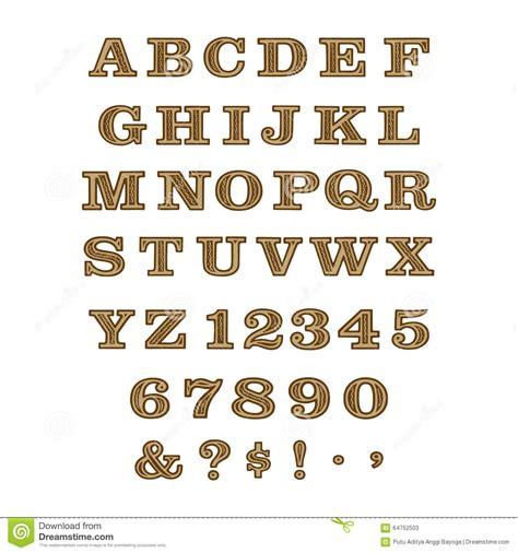 design font batik batik font stock vector image 64752503
