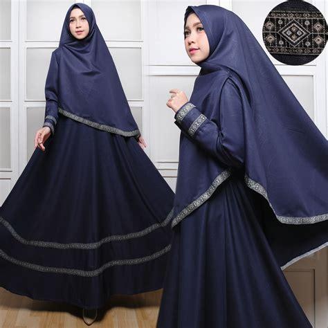 Melvina Set Songket Busana Muslim Setelan Atasan Dan Rok Songket gamis syari baloteli list pita c031 baju muslim syar i