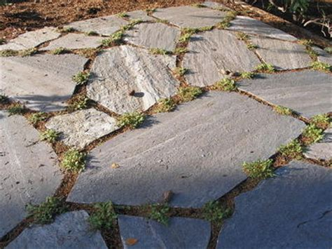 dry set flagstone walk or patio how to