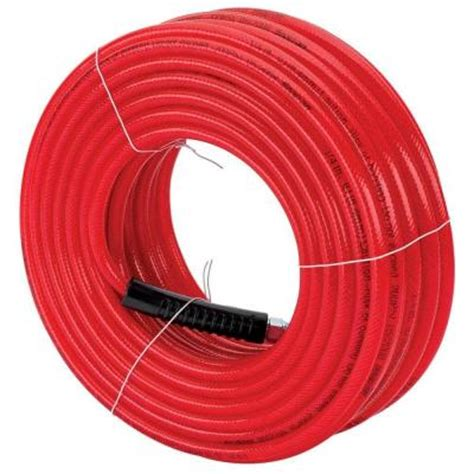 snap on 1 4 in x 100 ft polyurethane air hose 870217