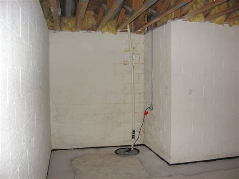 interior drain tile accurate basement repair