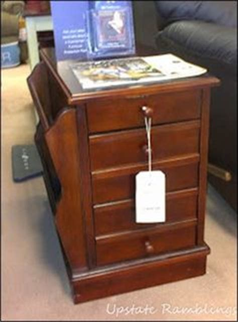 End Tables With Drawers And Magazine Rack by Rv Recliner Side Table Www Improvementscatalog