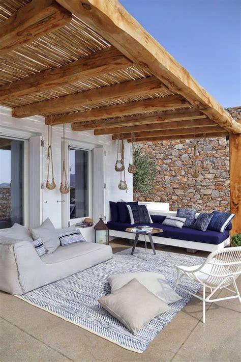 ideas techos una terraza estilo  como organizar la