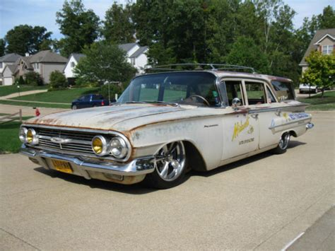 1960 ls for sale 1960 chevrolet parkwood wagon ls1 auto air ride bagged a c