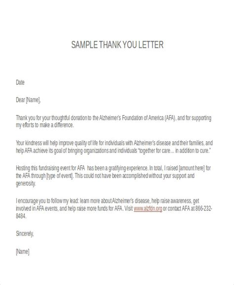 Support Letter To Host A Conference Thank You Letter Format Free Premium Templates