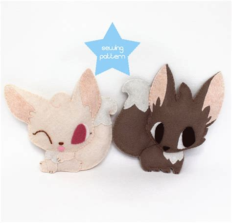 pattern for simple stuffed animal pdf sewing patterns fennec fox stuffed animals easy