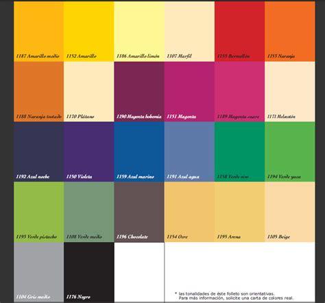 carta de colores de pinturas para interiores carta de colores pintura interior imagui