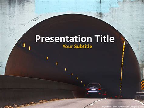 ppt templates for highway free highway powerpoint templates myfreeppt com