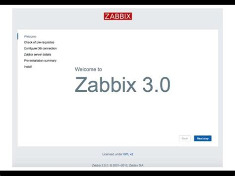 tutorial zabbix 3 how to install zabbix on centos 7 idroot