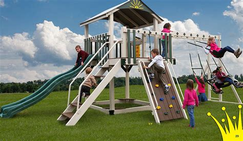 vinyl wooden swing sets amish playsets nj