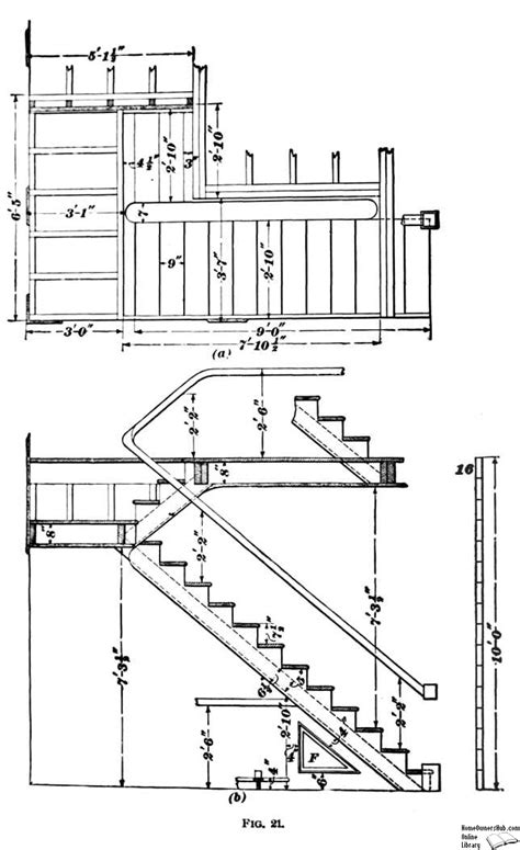 Stair Plan stairway design and construction page 26 section 11