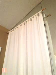 Curtains Without Rods How To Hang Curtains Like Macgyver S Home