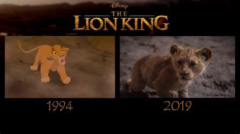lion king    trailer comparison youtube