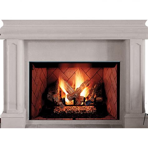 fire place ihp superior brt4042ten b 42 quot ng fireplace white brck hrth