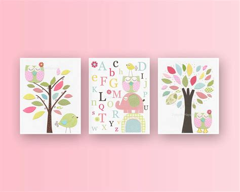 Baby Girl Room Ideas Nursery Wall Art Print For Girls Baby Etsy Nursery Decor